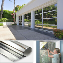 One Way Mirror Privacy Reflection Window Tint Film Reduce Heat And Energy Saver