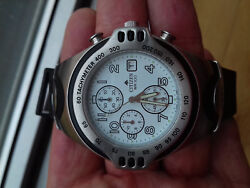 Citizen Vintage Collection Promaster An0730-09b2 Chronograph Watch Full Nos Uhr