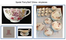 Copeland Spode Fairy Dell China, 64 Pieces - Seattle Area Delivery Only