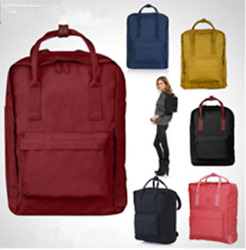 Men's Canvas  Backpack Rucksack Camping School Satchel Travel Hiking5ColorM