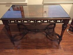 Antique Rare 18th Century Victorian Carved Table
