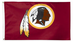 Washington Redskins 3'x5' Official Deluxe-edition Nfl Football Wincraft Flag