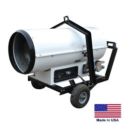 PORTABLE HEATER ComlIndustrial - Ductable - VP & NG Fired - 255000 BTU