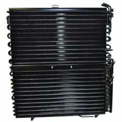 Air Conditioning Condenser With Fuel And Oil Cooler Compatible With John Deere