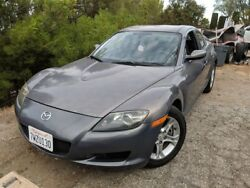 2006 MAZDA RX8 Automatic 6 Speed - $6000 (Rancho Palos Verdes) Gray coupe