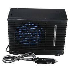 DC12V Mini Evaporative Air Conditioner Portable Car Truck Cooler Cooling Fan