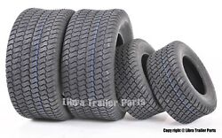 Set Of 4 New Lawn Mower Turf Tires 16x6.5-8 Front And 23x9.5-12 Rear /4pr
