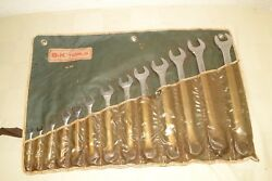 Vintage S-K WAYNE Tools No. 1713 Combination Wrench 13pc 14