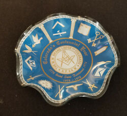 Coloradoand039s Centennial Year Display/candy Dish The M.w. Grande Lodge Of Colorado