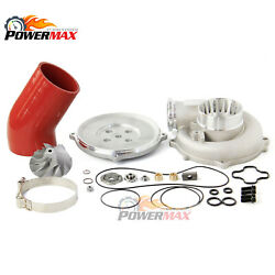 9497 Powerstroke 7.3 Tp38 Turbo Compressor Housing Rebuild Kit 66/88 3.5and039and039 Hose