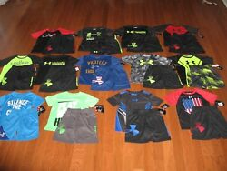Under Armour 2-Piece Set Shirt & Shorts  Boys 456 NWT
