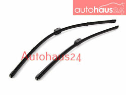 BMW E90 E91 3-SERIES FRONT WINDSHIELD WIPER BLADE SET NEW 325I 328I 330I GENUINE