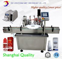 perfume filling machineperistaltic pumpeye drops filling and capping machine