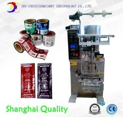 packaging machine for liquid,4side,honey packing machine,shampoo fill sealing