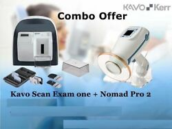 Combo Offer Kavo Scan Exam One and Nomad Pro2 Handheld Portable X Ray free shipp