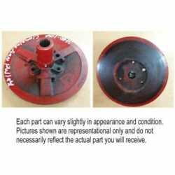 Used Cleaning Fan Drive Pulley Compatible With International 1440 1480 1460