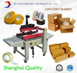 Semi Automatic Carton Tape Sealing Machine,left And Right Side Drive,110/220v