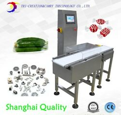 automatic box check weigher machine with kicker,high speed bag/bottle weight