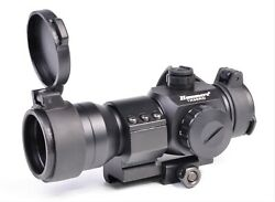 Hammers Green Red Dot Reflex Sight 1x35 With Picatinny Ring Mount