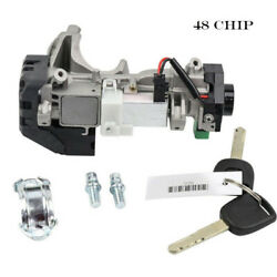 48 Chip Ignition Switch Cylinder Lock Auto Trans For Honda Civic 35100-sda-a71