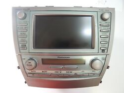 GPS NAVIGATION DISPLAY SCREEN W CLIMATE CONTROL TOYOTA CAMRY 07 08 09 OEM