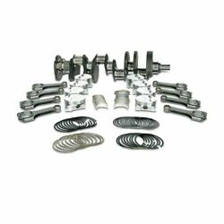 Premium Forged Scat Rotating Assembly I-Beam Rods Fits Chevy 415 LS1 1-44207