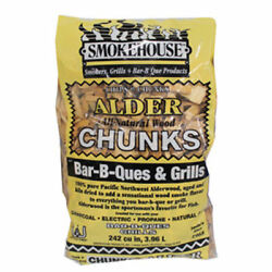 Alder Smokehouse Chunks ~ 1 Case ~ 12 Bags 1.75 Lbs. per Bag ~ Great Buy