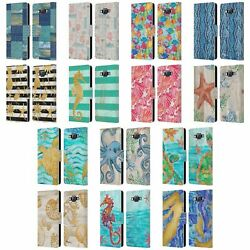 Official Paul Brent Coastal Leather Book Wallet Case Cover For Samsung Phones 2