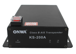 Class B Ais Transponder Black Box With Sart Function W/gps Antenna W/10m Cable