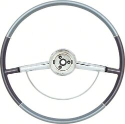 Oer 16 Two Tone Blue Steering Wheel 1964 Chevy Impala Bel Air And Biscayne