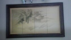 Asian Antique Wall Painting
