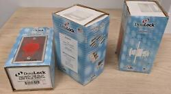 New In Box Dynalock 1-5/8 Dia Red Palm Switch 6290 Pneumatic Rex Button