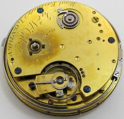 Mc Cabe Repeater Pocket Watch Movement London, Jeweled Chain Fusee J. Mccabe