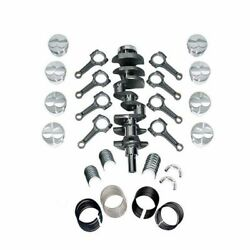 New Scat Rotating Assembly I-beam Rods Fits Ford 302 Main 347 1-94185