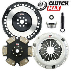 CLUTCHMAX STAGE 5 CLUTCH KITCHROMOLY FLYWHEEL FOR ACURA HONDA B16 B18 B20 HYDRO $143.97
