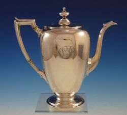 Pointed Antique By Reed Barton And Dominick Haff Sterling Silver Coffee Pot 2937