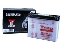 Yuasa Yb16al-a2 Yamaha Ex570e Exciter And03988-and03990 Conventional Yumicron 12v Battery