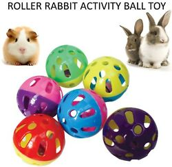 2018 Minimals Roller Rabbit Activity Ball Small Animal Exercise Toy Ball Rr1