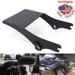 King Tour Pak Pack Chopped Lock Razor Trunk Mount For Harley Touring Model 97-08