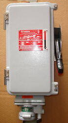 New Appleton Md2sr6034f Hazardous Location Switched Receptacle 60 Amp Fused 4p3w
