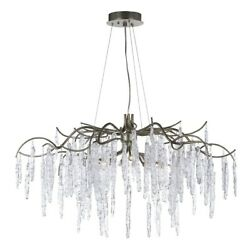 Maxim Lighting Willow 8 Light Chandelier In Silver Gold - 26284icsg