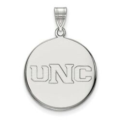 University Of Northern Colorado Bears School Letters Pendant In 14k White Gold