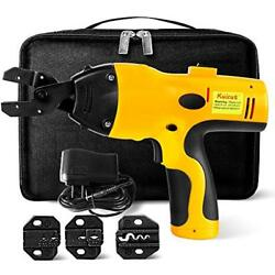 Crimping Crimpers Tool Power Kit For Wire Terminals Connectors Non Ratcheting By