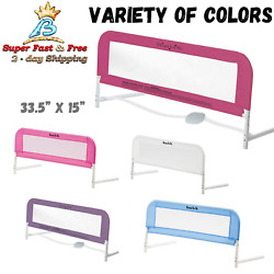 Anti Fall Mesh Bed Rail Toddler Child Elderly Baby Kids Safety Secure Crib Guard