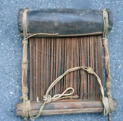 African Vintage Hand-loomed Textile Native Traditional Tool Weaving Equipment