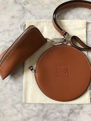 Loewe Cookie And Z Purses With Cross Body Strap 3 Pc Set - Brand New