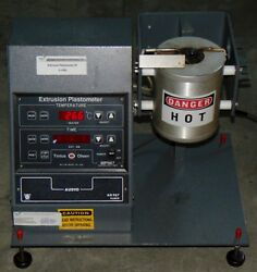 Tinius Olsen MP987 Extrusion Plastometer  Melt Indexer with Extras