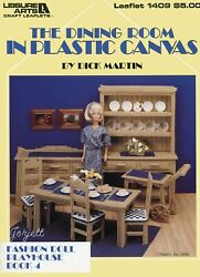 The Dining Room Playhouse Book 4 Fits Barbie Plastic Canvas Pattern Booklet