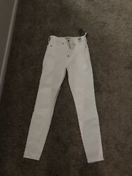Abercrombie And Fitch Simone Jeans Size 0 25s Retail 76