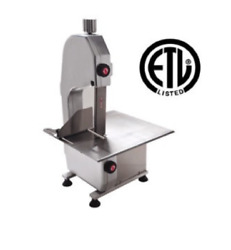 New Table Top Meat Saw Uniworld Uhla-165 Commercial Nsf 3864 Cutter Bone Blade